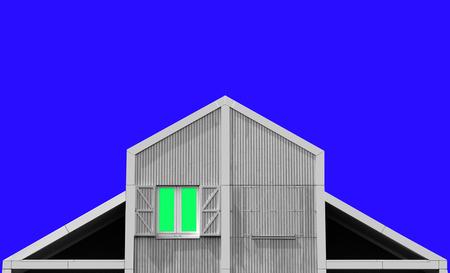 """Landhouse abstract - Een abstract landhuis, vind ik eigenlijk wel passen, bij de """"vlakken """" fotografie......  :-)  Fijne dag verder en dank voor  de fijne reacties..... - foto door niezen_zoom op 12-07-2016"""