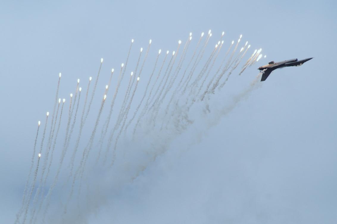 Luchtmachtdagen 2014 - F-16 Demoteam - foto door Sonyjoenka op 22-06-2014 - deze foto bevat: vliegtuig