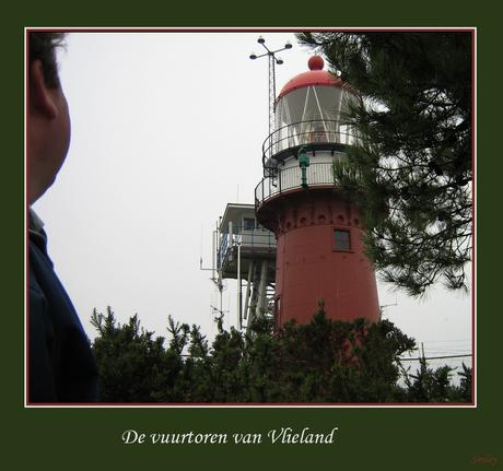 De vuurtoren van Vlieland