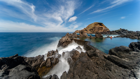 natural pools bij Porto Moniz, Madeira