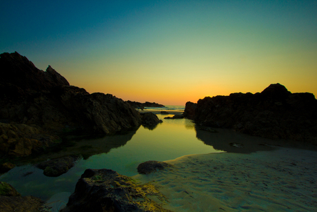 Zonsondergang in Bretagne 2