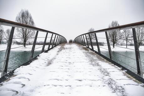 The bridge over ...