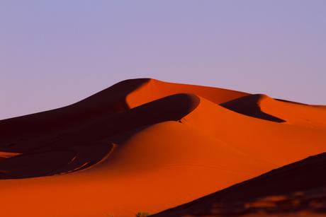 rode zandduinen Marokko
