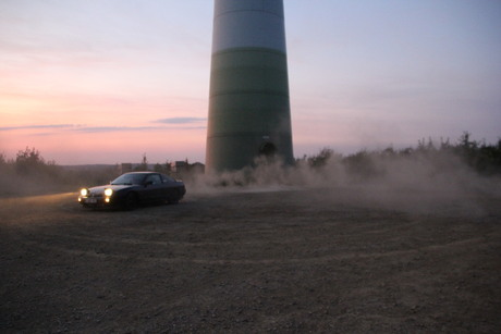 Drifting with an oldtimer