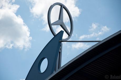 Nürburgring Mercedes Tribune