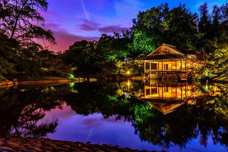 Sunset Japanse Tuin