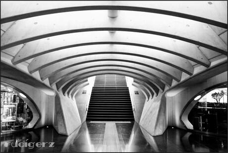 onder het station