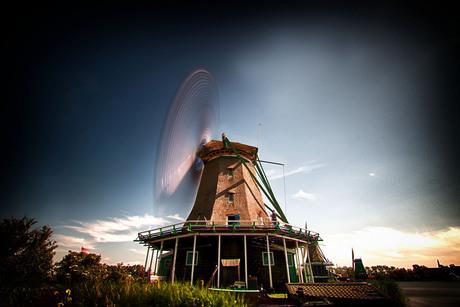 Windmolen Sluitertijd @ Zaanse Schans