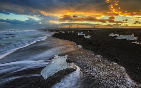 One night at the beach - IJsland