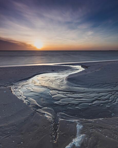 drain off into the ijsselmeer