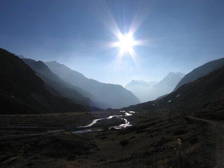 Tegenlicht Haute Maurienne