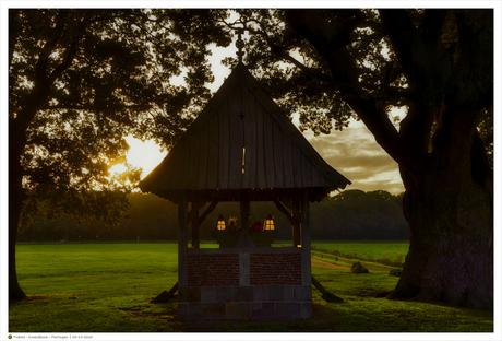 Kroeseboom Fleringen - zonsondergang