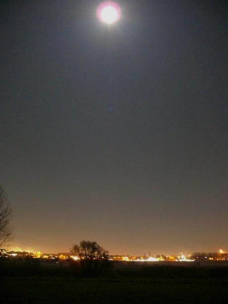 Maas - maanzicht