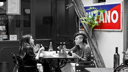 Streetlife Milaan - - - foto door LilianPeter op 01-03-2021