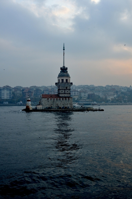 Istanbul Kiz Kulesi (Leandertoren of de Meisjestoren)