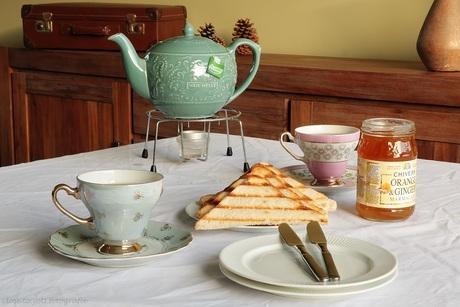 tea and toast....