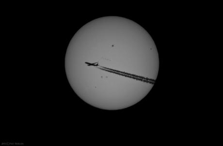 Sunspots & Airplane