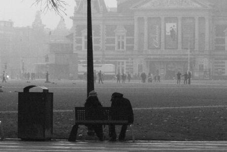 Mist Museumplein