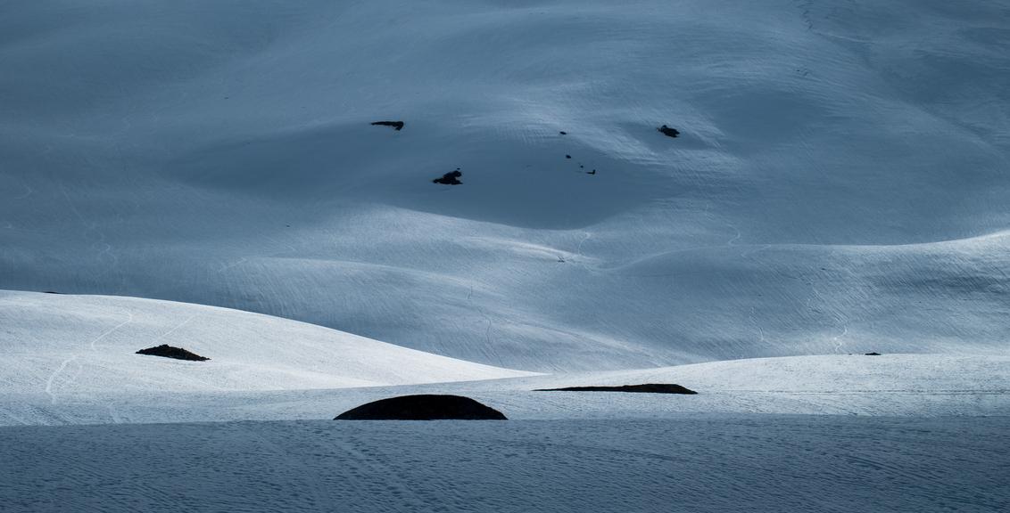 Snow Dunes - - - foto door Joshua181 op 09-09-2017 - deze foto bevat: natuur, licht, sneeuw, avond, reizen, landschap, bergen, noorwegen