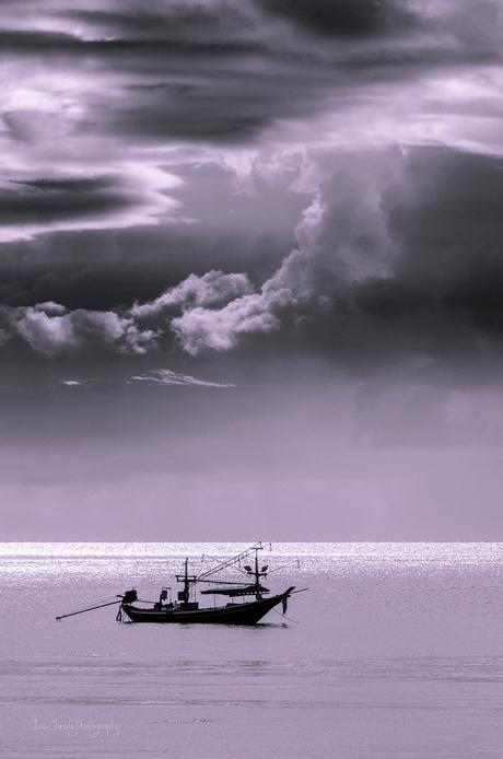 Fishing boat Koh Samui