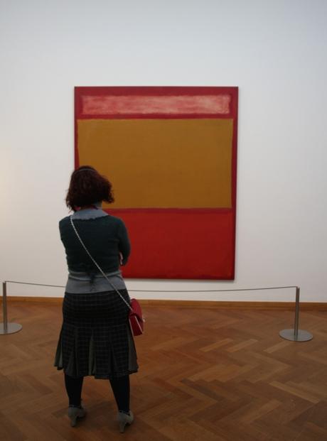 Kijken naar Rothko.......