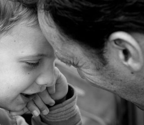 Liefde tussenvader en zoon