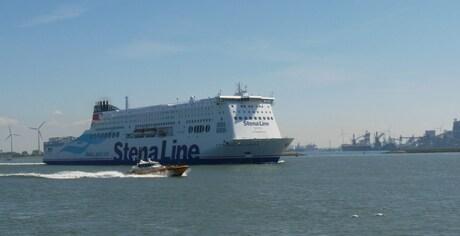 Nieuwe Stena Hollandica vetrekt op 21 mei 15.05 uur