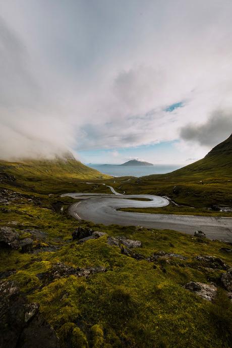 road to Norðradalur.
