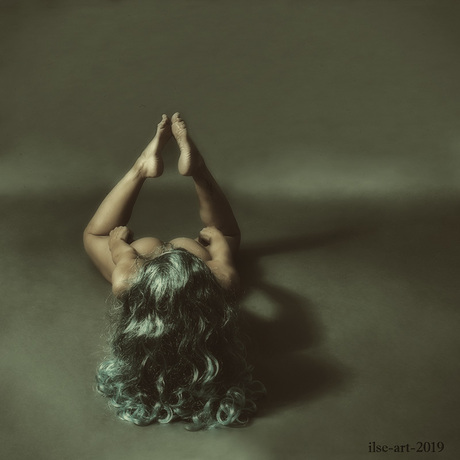 Hold on and stay Strong - selfportrait