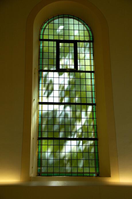 Zon door raam