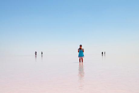 Salt lake te Turkije