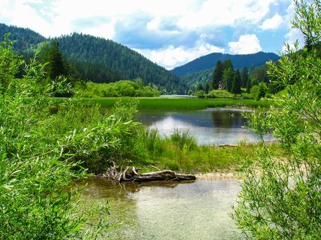 het prachtige landschap van Oostenrijk