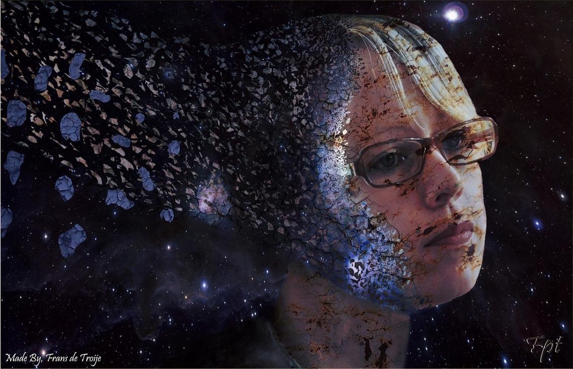 Disapering in space - eerst echte Photoshop projectje!! - foto door fpt op 06-12-2012