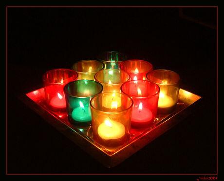 Lichtjes voor het nieuwe jaar