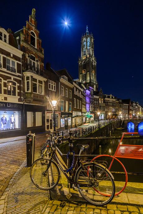 Moonshine over Utrecht