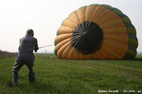 Ballon betuigen