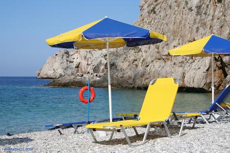 Vakantie - Heerlijke vakantie op Karpathos - foto door leonore op 26-04-2010 - deze foto bevat: strand, zee, vakantie