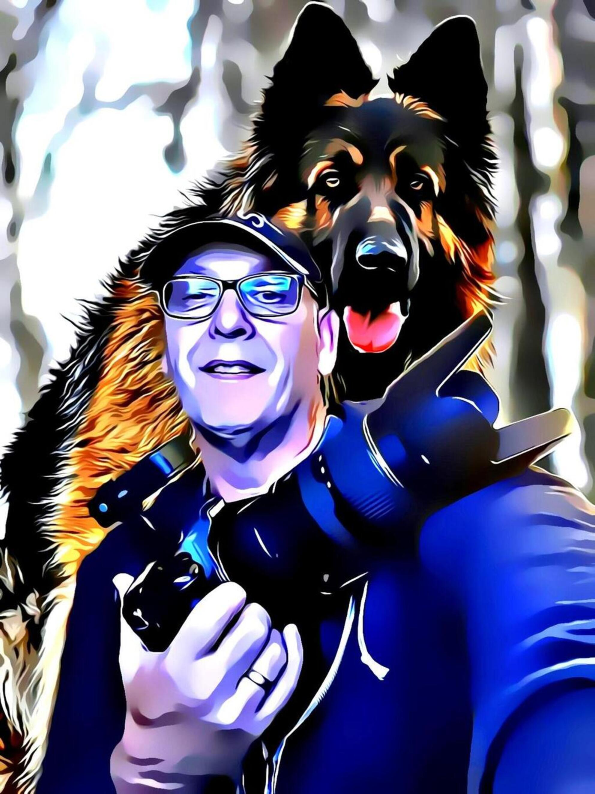 Woof and the Boef - - - foto door artmen op 07-03-2021