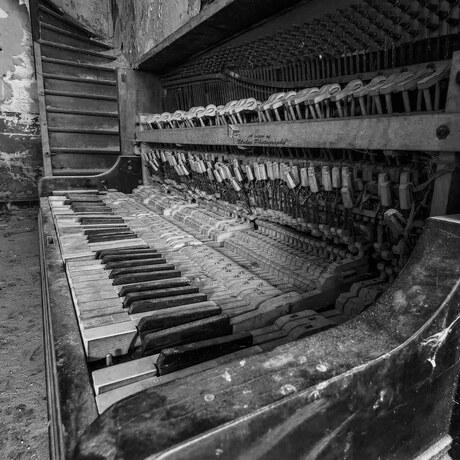 De schoonheid van een piano