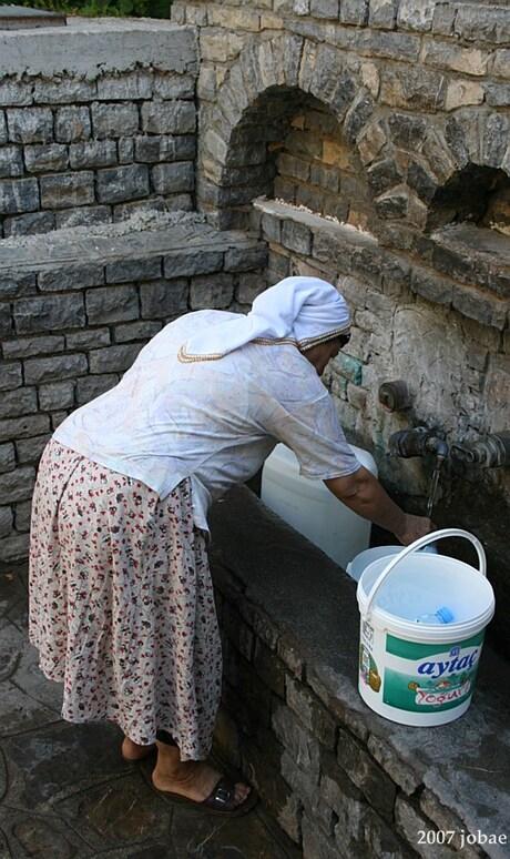 Water halen.