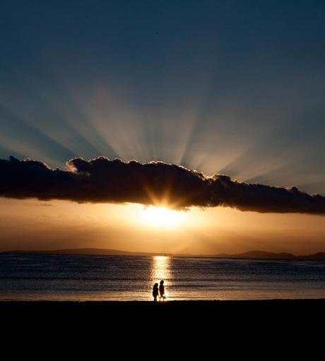 Throwback Mallorca sunset