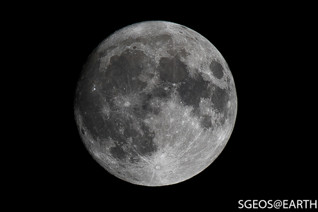 Supermoon the day before......