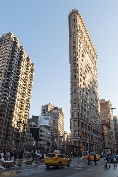 NY - Flat Iron - Flat Iron Building New York. - foto door lucsevriens op 16-10-2015 - deze foto bevat: architectuur, reizen, amerika, straatfotografie, toerisme, reisfotografie, Flat iron
