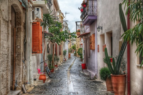 Streets of Rethymnon