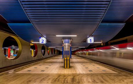 Snelheid in Rotterdam Blaak