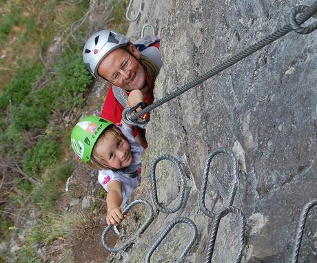 Klettersteig Stuibenfall Otztal