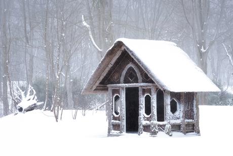 Snowy House...