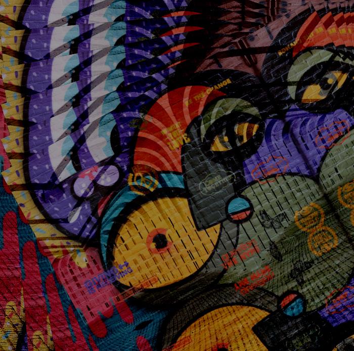 looking at you ….. - …...and you look at it. - foto door Gooiseroos op 30-12-2017 - deze foto bevat: abstract, structuur, bewerkt, fantasie, kunst, bewerking, sfeer, contrast, straatfotografie, creatief, bewerkingsuitdaging