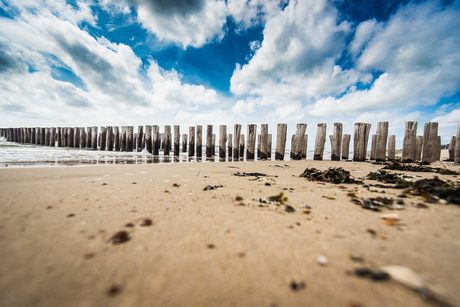 Strand en lucht