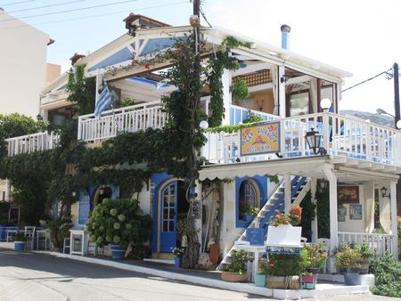 Op z'n Grieks! - - - foto door Bianca-101 op 17-06-2018 - deze foto bevat: vakantie, reizen, zomer, gebouw, huis, traditioneel, restaurant, grieks, toerisme, reisfotografie